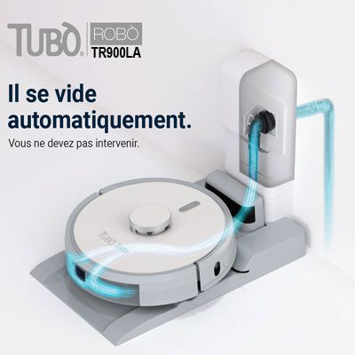 Robot aspirateur laveur Robò Tubo Aertecnica