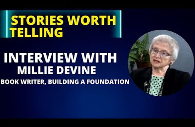 Writing a Book, Building a Foundation, Inspiring a Community: Millie Devine on Stories Worth Telling
