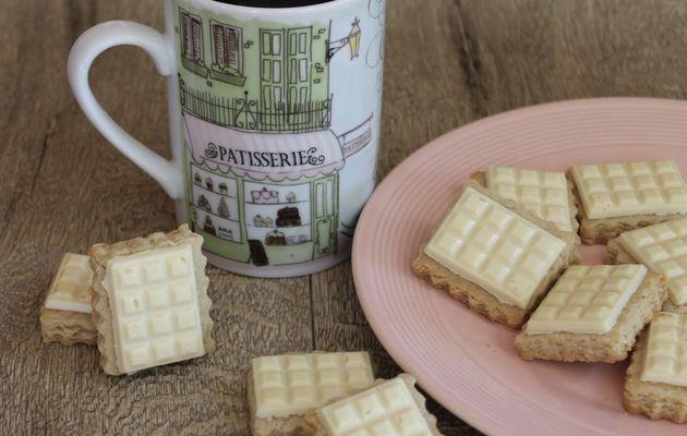 Biscuits à l'huile d'amande et chocolat blanc