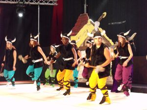 Comédie musicale avec CLAPOTI à Algrange en 2010