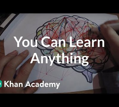 You can learn anything