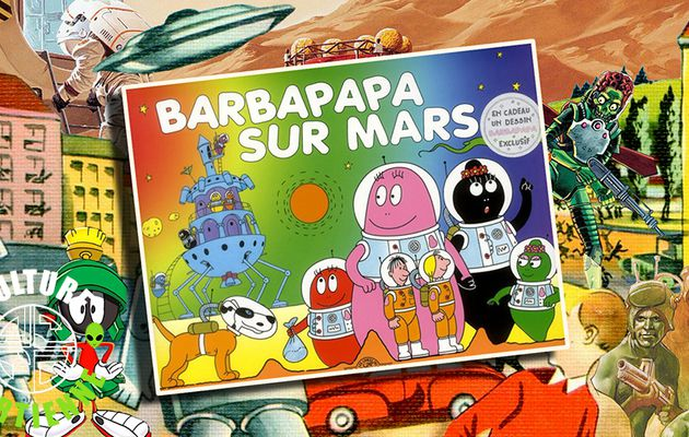👽📚 ANNETTE TISON & TALUS TAYLOR - BARBAPAPA SUR MARS (2005)