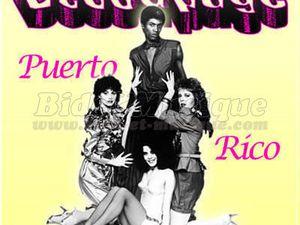 """découpage, une formation américaine rendue célèbre pour son hit intemporel et éternel """"Puerto Rico"""""""