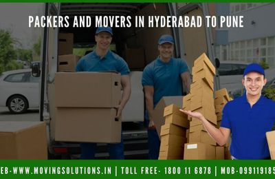Best Packers and Movers Hyderabad to Pune