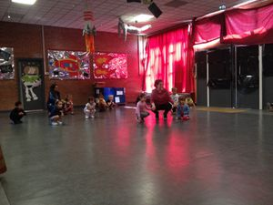 Centre Voltaire maternelle: initiation capoeira 13/07/2017