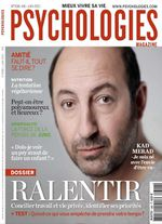 "A lire : dossier ""Ralentir"" dans Psychologies Magazine de juin"