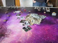 L'empire arrive de l'hyperespace au  milieu des rebelles !