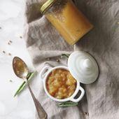 Chutney de poire au poivre de penja - la gourmandise est un joli défaut