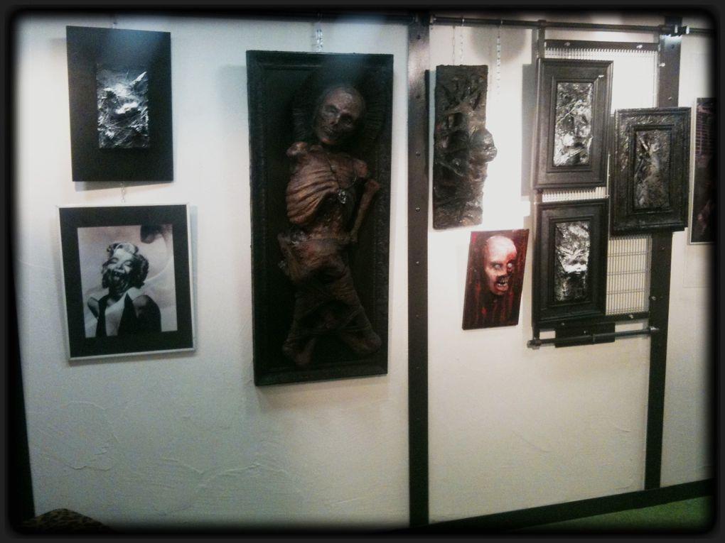 Expo du 1er octobre au 24 novembre 2012 ! FESTIVAL DE L'HORREUR ET DE LA MORT QUI TUE !!
