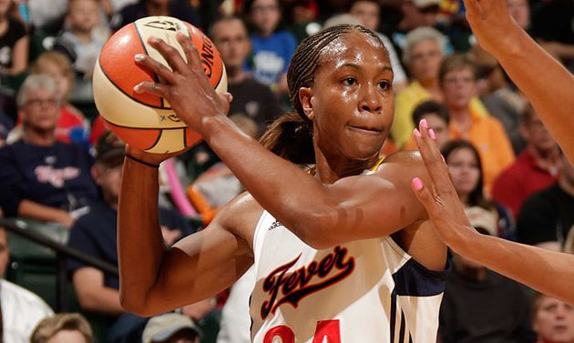 WNBA: Tamika Catchings et Indiana fever déroulent