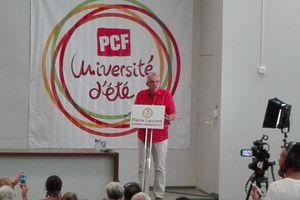 Discours de Pierre Laurent - Université d'été PCF 2016 à Angers
