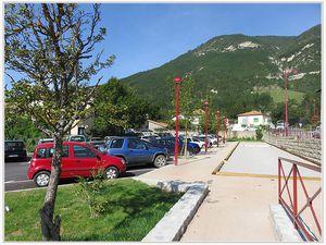 Saint André les Alpes : Un nouveau boulodrome au centre village