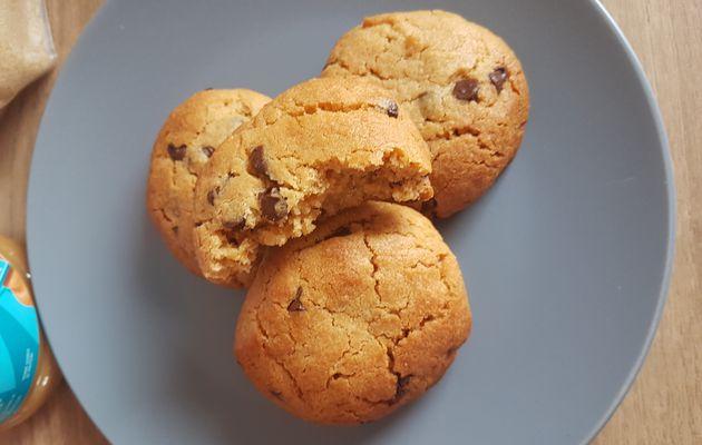 Cookies au beurre de cacahuètes (ou comment me réconcilier avec le beurre de cacahuètes)