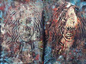 Monotypes de Danielle Gaillard (cliquez pour agrandir)
