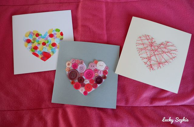 4 DIY faciles de carte coeur ❤