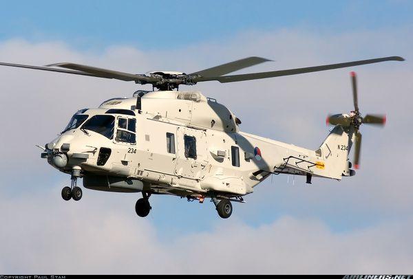 Les pilotes néerlandais se plaignent du bruit dans les hélicoptères NH-90