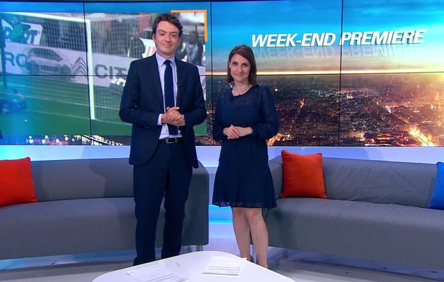 📸10 WEEK-END PREMIERE @BFMTV @BFMTVmatinaleWE @SandraGandoin @JohannaCarlosD8 ce matin #vuesalatele