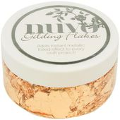 TS852N : Nuvo Gilding Flakes 6.8oz Sunkissed Copper Fée du Scrap