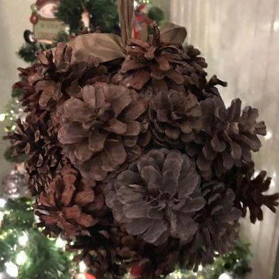 Défi de Noël - Avec des végétaux