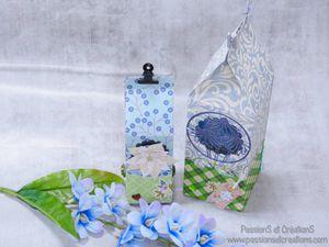 Boite - Cadeaux - Fête des Pères - 2021 - Strass - Stickers - Fait Main - Fait maison - Machine de découpe - Artemio - Happy Cut - Dies - Fleurs