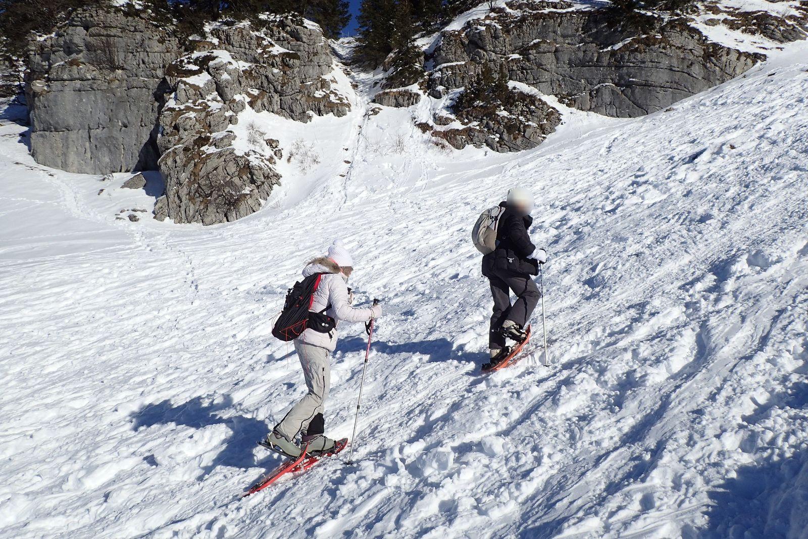 Montagne des Auges : Depuis le Col des Glières (version 3)