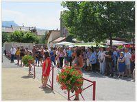 Saint André les Alpes : Un 14 juillet doublement bleu, blanc, rouge