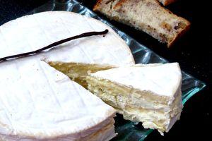 Brie à la vanille