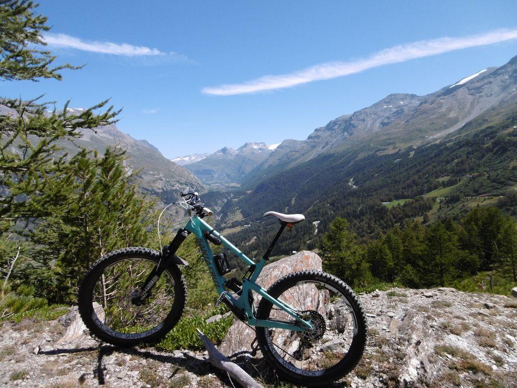 Ride à Lanslebourg : lac du Mont-Cenis-Enduro L'Art de la selle (73) le 8/08/2020