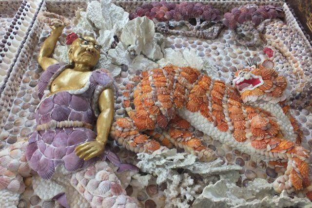 TEMPLE EN COQUILLAGES 三芝貝殼廟