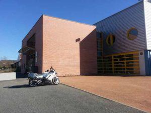 Hall des sports dans les anciens locaux industriels (2em mandat)