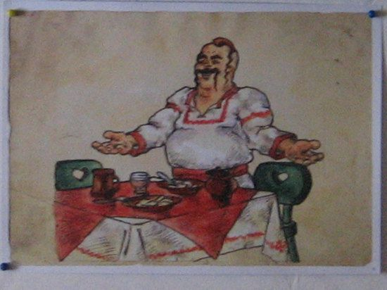 Cuisine un peu russe : le bortsch