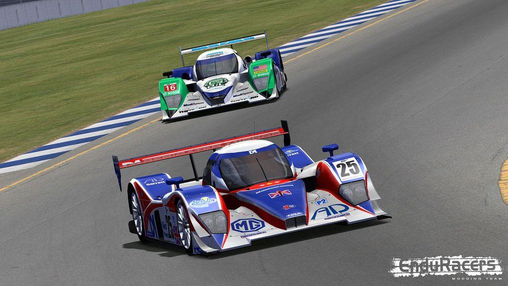 La Lola LMP2 pour le Mod Endurance Series