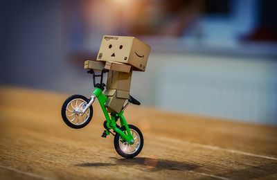 Danbo - Bicyclette - Photographie - Wallpaper - Free