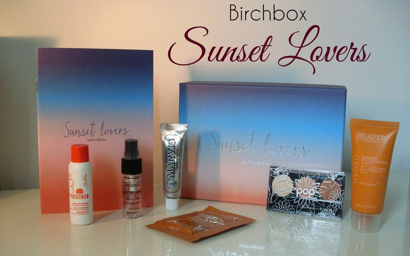 Spoiler Birchbox Juillet 2015 ~ Sunset Lovers
