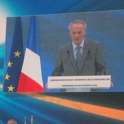 """De L'innovation à l'experimentation à la commercialisation ,Michelin fait """"le pari de la France"""", en Auvergne"""