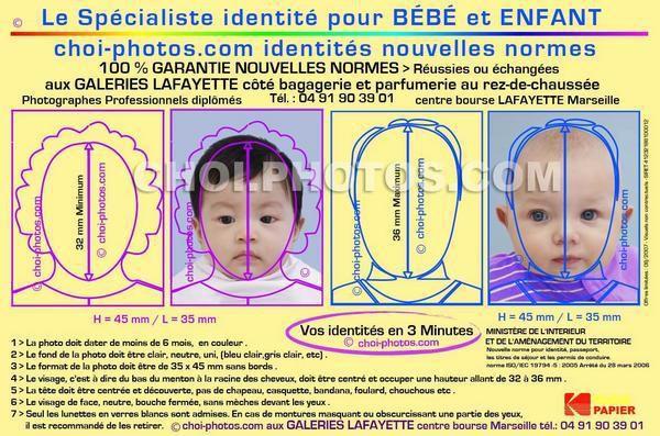 #photo #d'identité #bébé  #passeport #visa