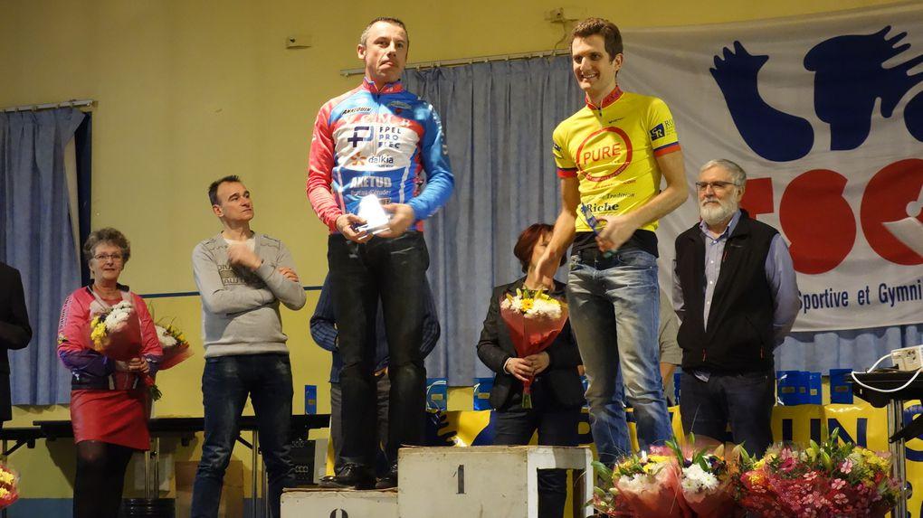La remise des récompenses des cyclistes de la FSGT 69 a eu lieu ce vendredi soir à la salle Joliot-Curie