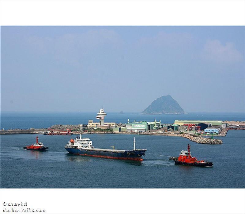 Le Tong San 2, le Hao Fan 6 et le Jie Shun, trois des quatre cargos interdits de ports par l'ONU