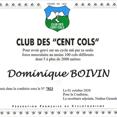 "Domique Boivin ""Cent Cols"""