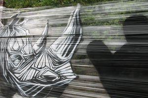 Street art  au festival Pignols'arts