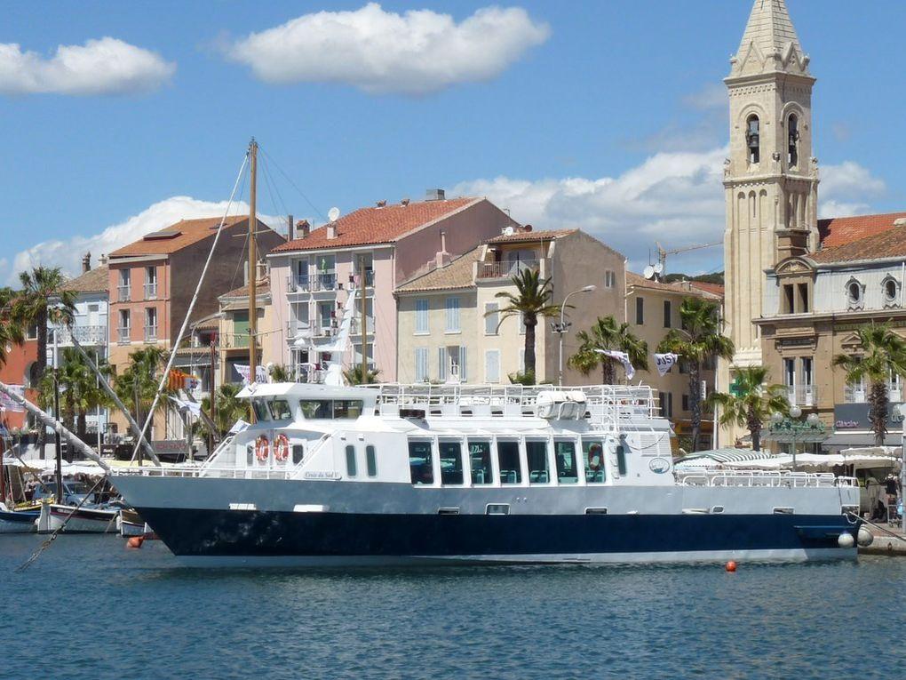 CROIX DU SUD V , pour la visite des iles en baie de Sanary  et Bandol