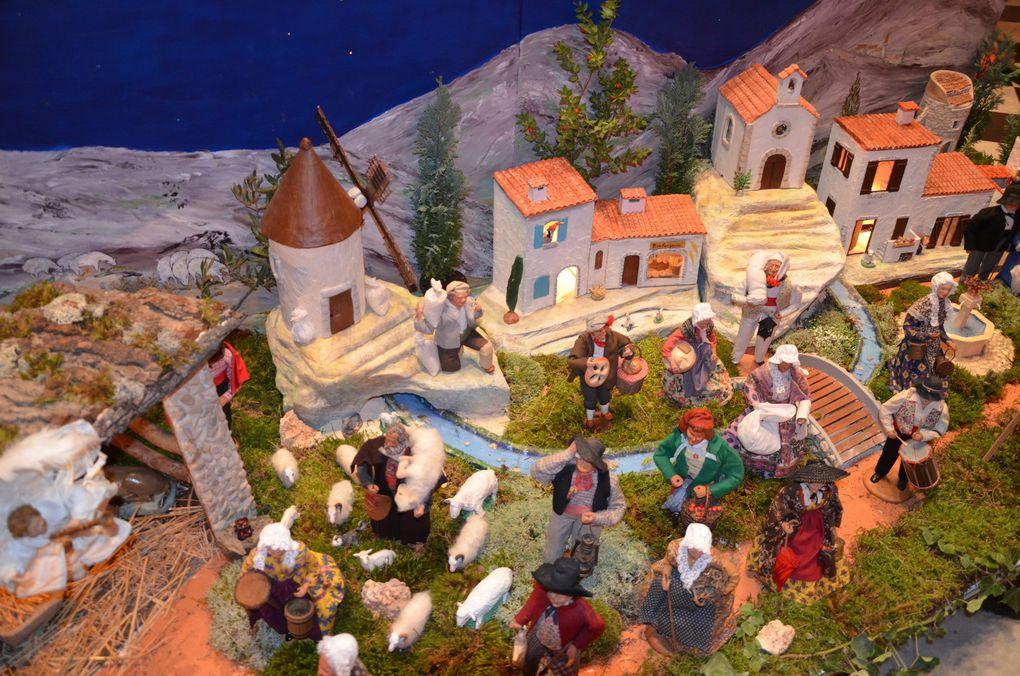 L'église de l'Estaque prête pour les fêtes de Noël
