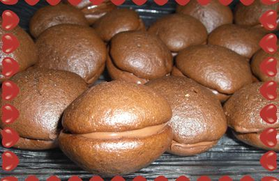 Whoopies Pies au Nutella