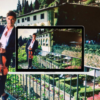 """Violinist Charlie Siem to perform exclusive Instagram concert at Belmond villa San Michele in Florence as part of """"Belmond invitations"""""""