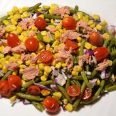 Salade 2 haricots thon tomates cookeo |