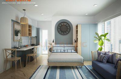 Cho thuê căn hộ Studio nội thất cực đẹp hẻm 904 Nguyễn Kiệm #7.5 Triệu (có thang máy, ban công) mới 100%
