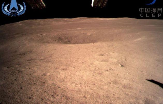 La Chine réussit le premier alunissage jamais réalisé sur la face cachée de la Lune - Découvrez les images
