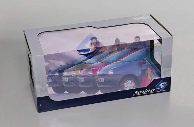 1/18 : La Renault Twingo 1 aussi chez Solido... mais avec 4 coloris