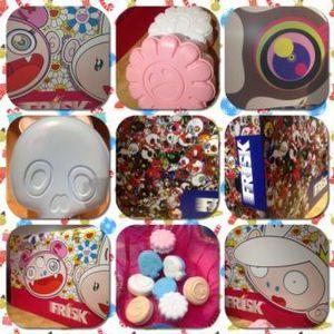 Les nouvelles boîtes de bonbons Frisk designées par Takashi Murakami !