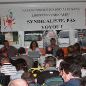 AG de rentrée de l'UD CGT Sarthe jeudi 17 septembre à Mulsanne au Clos Fleuri - Syndicat CGT des Cheminots Actifs et Retraités de la Sarthe